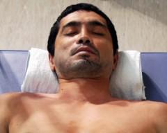 沙人 プライベート画像/撮影便り(2010/8/7)藤井組 点滴睡眠