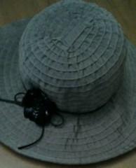中ゆうこ 公式ブログ/たまには黒じゃなく…帽(^_-) 画像1