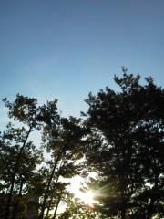 中ゆうこ 公式ブログ/秋晴れが続いていますね。 画像1