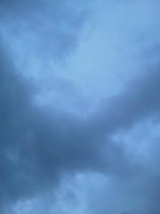 中ゆうこ 公式ブログ/曇り空、初秋の夕空。 画像1