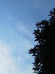 中ゆうこ プライベート画像 空模様20130910