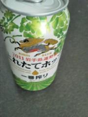 中ゆうこ 公式ブログ/震災を乗り越えたビール 画像1