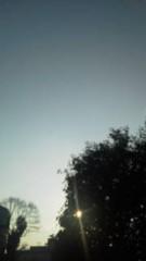 中ゆうこ 公式ブログ/夕方のお空 画像2