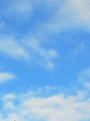 中ゆうこ プライベート画像 空模様20130930