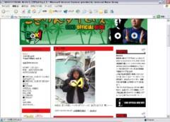 INFINITY 16 公式ブログ/ブログツアー ⇒ GOKI 画像1