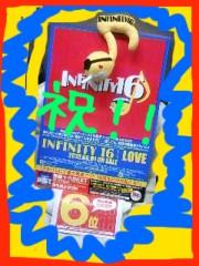 INFINITY 16 公式ブログ/アルバム「LOVE」がオリコン自己最高!!直筆サイン入りあるねんでー 画像1