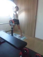 小嶋 里彩子 公式ブログ/トレーニング 画像1