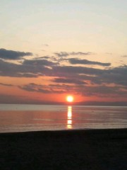 井上和彦 公式ブログ/陽が沈みました 画像1