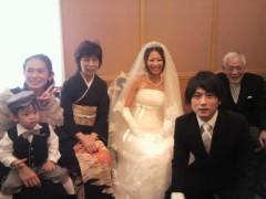 吉本純(やさしい雨) 公式ブログ/花嫁 画像1