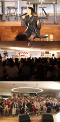 AI 公式ブログ/母の日に50組100名の親子の前で新曲「ママへ」を披露!! 画像1