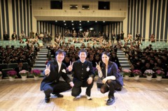 AI 公式ブログ/福島県大熊中卒業式でサプライズライウ゛を実施!! 画像1