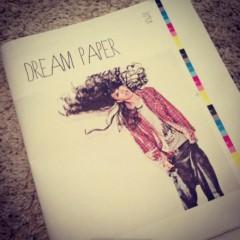 AI 公式ブログ/新創刊「DREAM PAPER VOL.00」で表紙!! 画像1