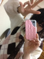 土方穂乃花 公式ブログ/ちょこカバー 画像1