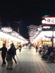井坂聡 公式ブログ/夜の浅草! 画像2