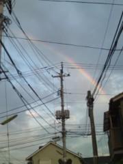 井坂聡 公式ブログ/虹が! 画像1