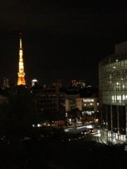 井坂聡 プライベート画像 六本木ヒルズからの夜景