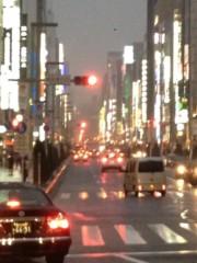 井坂聡 公式ブログ/雨の銀座 画像1