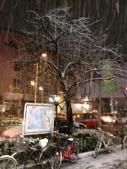 井坂聡 公式ブログ/雪だ! 画像1