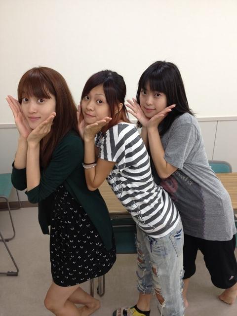スッピン三姉妹