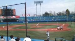 井坂聡 公式ブログ/神宮球場だよ 画像1