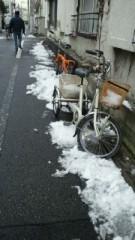 鈴木淳(しながわてれび出演者blog) 公式ブログ/雪が積もってるね! 画像1
