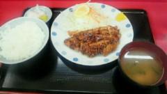 鈴木淳(しながわてれび出演者blog) 公式ブログ/チキンカツ定食はうーまい! 画像1