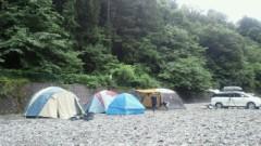 鈴木淳(しながわてれび出演者blog) 公式ブログ/木間沢キャンプ場近くの河原で! 画像3