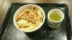 鈴木淳(しながわてれび出演者blog) 公式ブログ/なか卯の牛丼! 画像1