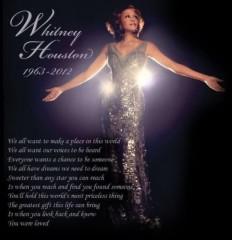 KYLA (カイラ) 公式ブログ/R.I.P Whitney Houston 画像1