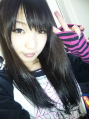 葉月 公式ブログ/Φ(.. )黒髪 画像1