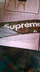 カリスマカンタロー 公式ブログ/Supremeの寝袋 画像1