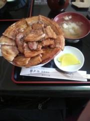 ゴジーラ久山 公式ブログ/とん田のぶた丼 画像2