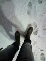佐藤峻 公式ブログ/雪降る夜に 画像1