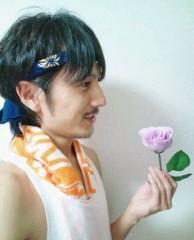 佐藤峻 公式ブログ/因縁の対決! おやじvs薔薇王子 画像1
