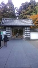 根岸雅英 プライベート画像 松島・瑞厳寺の入口から