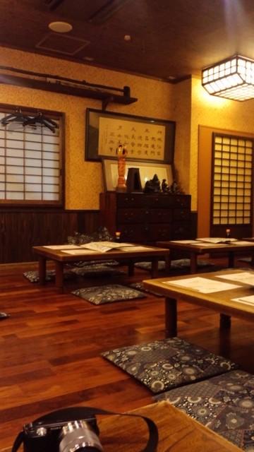 仙台の居酒屋さん、調度品の数々