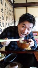 根岸雅英 プライベート画像/11月23〜25日、福島・宮城にて これが食べたかったんです。名物ねぎそばっ