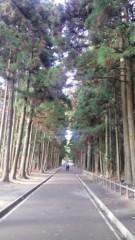 根岸雅英 プライベート画像 林道を抜けていくと