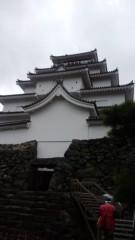 根岸雅英 プライベート画像/11月23〜25日、福島・宮城にて 城内へ入りますー
