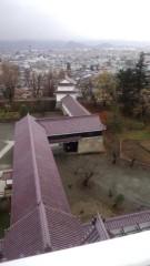 根岸雅英 プライベート画像/11月23〜25日、福島・宮城にて 天守閣からの眺めっ