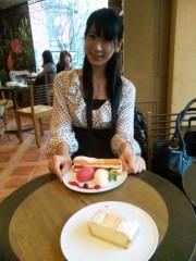 岡元あつこ 公式ブログ/渋谷ロクシタンカフェ 画像1