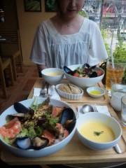岡元あつこ 公式ブログ/ロクシタンカフェでブランチ 画像1