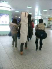 岡元あつこ 公式ブログ/早朝の新宿駅 画像1