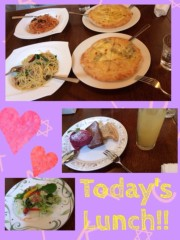 小林茜湖(H&A.) 公式ブログ/Lunch!!!!! 画像1