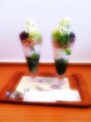 小林茜湖(H&A.) 公式ブログ/抹茶パフェ♡ 画像1