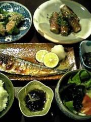 相田翔子 公式ブログ/『やっぱり秋刀魚定食』 画像1