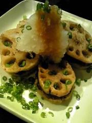 相田翔子 公式ブログ/『まぐろのヅケ丼と蓮根の挟み揚げ』 画像2
