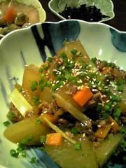 相田翔子 公式ブログ/『大根のそぼろあんかけ煮』 画像1