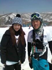 相田翔子 公式ブログ/『春スキー』 画像1