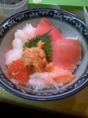 えひゃん 公式ブログ/打ち合わせ・海鮮丼 画像1
